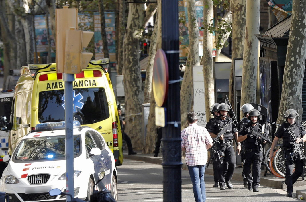 români răniţi la Barcelona