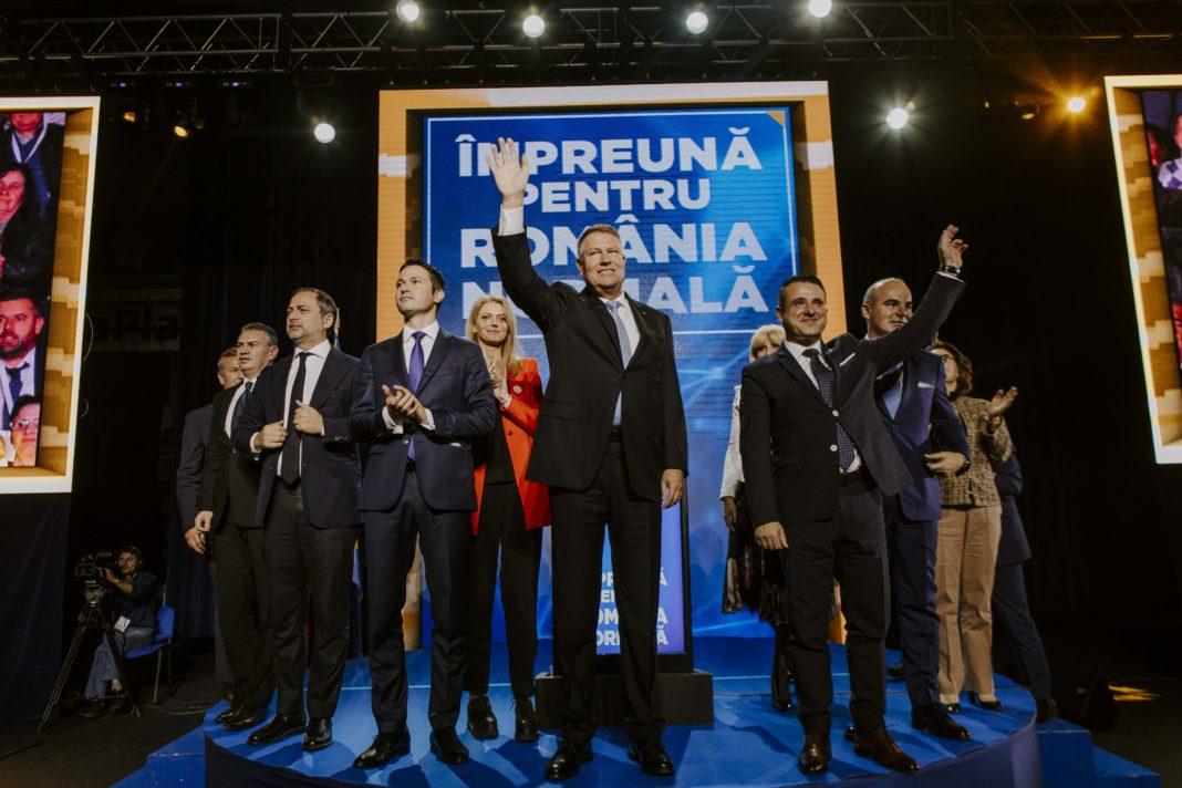 Klaus Iohannis în dialog cu cetățenii