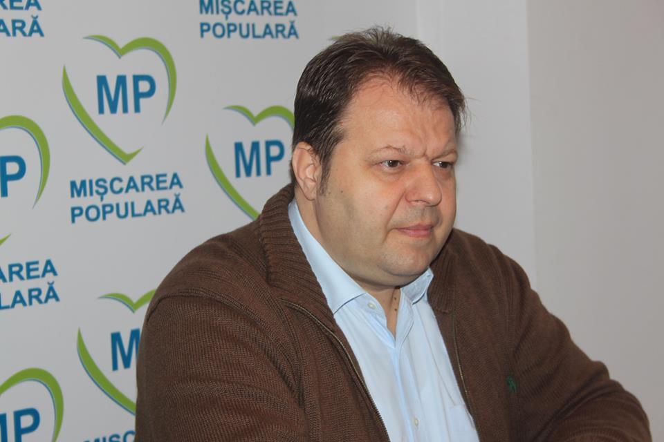 Adrian Florescu: PMP Teleorman îl susține în turul al doilea pe candidatul Klaus Iohannis