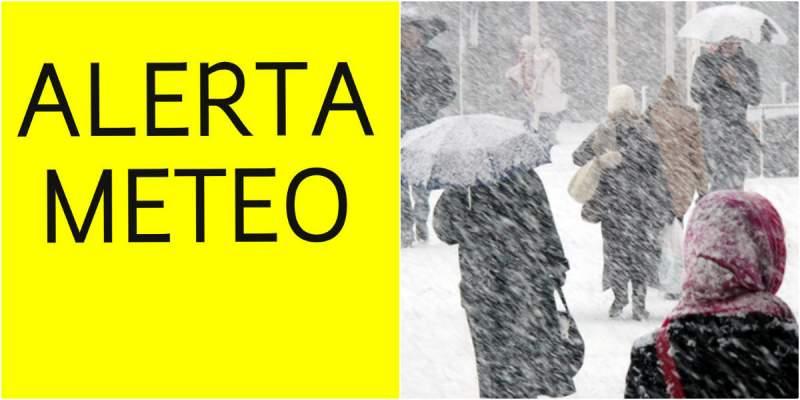 Cod galben de ploi, ninsoare și viscol în 27 de județe