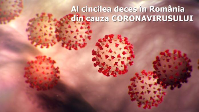 Al cincilea deces în România din cauza infecției cu noul coronavirus